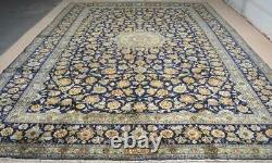 10 x 13 Signed Amazing Azerbaijani Hand Knotted Wool Area Rug Oriental Carpet