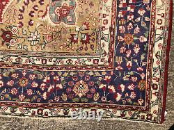 10x12 RED HAND KNOTTED WOOL RUG HANDMADE ORIENTAL ANTIQUE CARPET handwoven 9x12