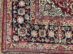10x13 RED ANTIQUE RUG HAND-KNOTTED vintage oriental handmade carpet 9x12 10x14
