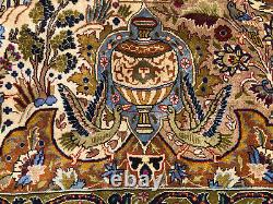 10x13 VINTAGE WOOL RUG HAND-KNOTTED oriental tree of life handmade green 9x12 ft