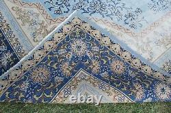 11x9 Oversized Vintage Hanmade Turkish Oushak Area Rug 139x108, 353x273cm