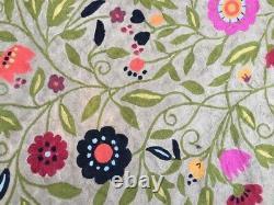 13256 Aubusson Rug Handmade Rug Vintage Rug Bedroom rug Needlepoint Rug Wool 6x4