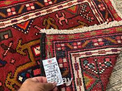 2x10 ANTIQUE WOOL RUNNER RUG HAND-KNOTTED VINTAGE handmade oriental 2x9 3x10 3x9