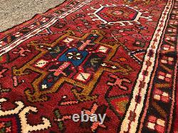 2x10 VINTAGE WOOL RUNNER RUG HAND-KNOTTED antique handmade oriental 2x9 3x10 3x9