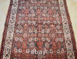 3'8 x 9'10 Vintage Tribal Kurdish Turkish Wool Rug Oriental Handmade Runner 4x10