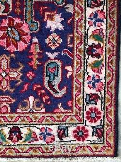 3 X 5 Vintage Handmade Wool Persian Authentic Area Rug Beautiful Floral Design