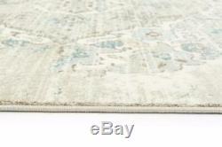 4620 Cream Oriental Traditional Large Area Rug Carpet Distressed