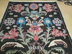 4' 5 X 16' 1 Antique Karabagh Caucasian Rug Hand Made Wool Carpet Organic Dye