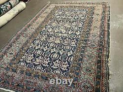 4' X 6' Antique 1880s Hand Made Caucasian Kuba Wool Rug Carpet Highly Detailed