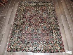 4x6ft. Vintage Handmade Dorokish Wool Rug
