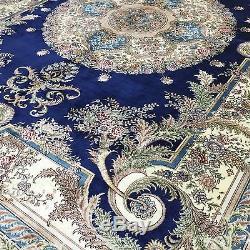 5'x7' Traditional Handmade Vintage Oriental Silk Persian Turkish Rug Carpet S27A