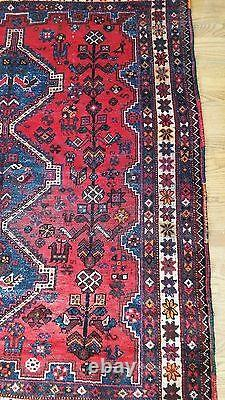 5 x 6 Vintage Kazak Persian Oriental Wool Hand Knotted Area Squares Rug