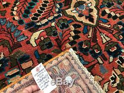 5x7 VINTAGE WOOL RUG HAND KNOTTED oriental HANDMADE antique handwoven 4x6 5x6 ft