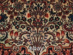 5x7ft. Vintage Handmade Bijar Wool Rug