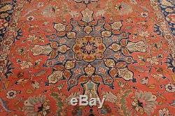 6'11 x 10' Hand Knotted Vintage Persian 100% Wool Oriental Area rug