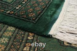 6'2 x 8'10 Traditional Hand-Knotted Oriental Wool Area Rug. DISCOUNTED