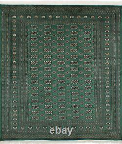 6'5 x 8'11 Vintage Hand-Knotted Traditional Oriental Wool Area Rug
