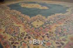 6' x 9' Persian Kerman Handmade Hand Knotted Genuine VINTAGE Rug Mint HUGE