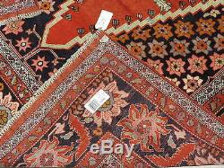 7x10ft. Spectacular Room Size Persian Vintage Look Kurdish Medallion Wool Rug