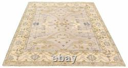 8'1 x 10'0 Vintage Oriental Hand-Knotted Traditional Wool Area Rug