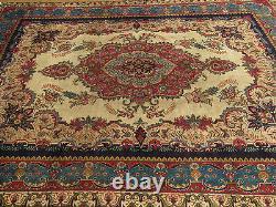 9.7 x 12.7 Genuine Handmade Antique 1930s Classic Azari Design Oriental Wool Rug