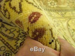 9'x13' Persian Tabriz Handmade Woven Genuine Vintage Rug FREE SHIPPING
