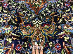 9x12 FINE ANTIQUE RUG HAND KNOTTED WOOL VINTAGE HANDMADE ORIENTAL CARPET 10x13