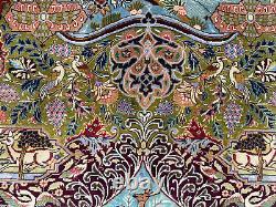 9x12 VINTAGE WOOL RUG HAND-KNOTTED oriental antique handmade 10x13 10x12 9x13