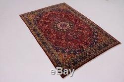Amazing Rare Classic Design Moud Vintage Persian Rug Oriental Area Carpet 7X10