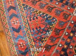 Antique Beshir Rug Gallery Size 6'1''X13'3'