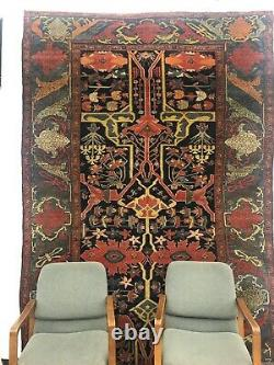 Antique Circa 1875 NW Persian Hand Woven rug In Excellent Condition & Patina