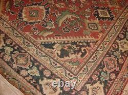 Antique Estate Rug Ca1900's Sultanabad Sarouk Mahal 7x10 Veg. Dye 590