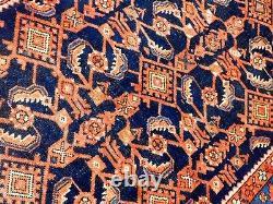 Antique Hand made rug. 4'4x 8'6