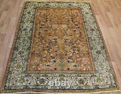 Antique Handmade Persian rug with garden design 180 x 140 cm