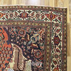Antique North West Persian Tabriz Carpet, With Fine Floral Design, Circa 1900