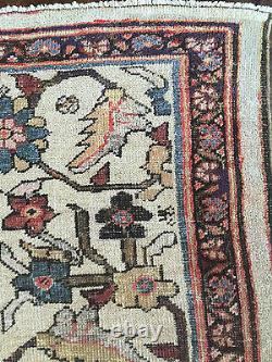 Antique Oversized Persian Ziegler Mahal Sultanabad Rug