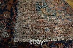 Antique Persian Malayer Distressed Rug 6'5x10'10