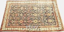 Antique Persian Malayer rug. 4'7x 7'9