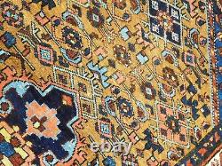 Antique Persian Malayer rug. 4'x 6'6