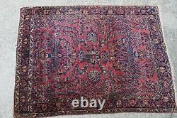 Antique Persian Sarouk Rug 3'5x4'9
