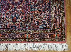Antique Persian Sarouk Rug 4'4x7