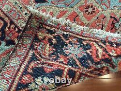 Antique Rug 19th CENTURY FINE PERSIAN Heriz circa 1890-1910 12'x9'/ 357cmx262c