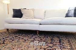Bargain XL Vintage Persian Rug blue pink pattern very Soho House 380x268