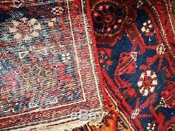 Beautiful & Timeworn Vintage Anatolian Genuine Turkish Patterned Rug 195 x 120cm