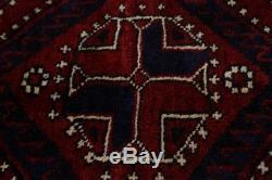 Beautiful Vintage Tribal Handmade Lori Persian Wool Rug Oriental Area Carpet 6X8