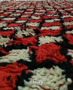 Berber Vintage rug 5x8 Traditional Moroccan Azilal rugs Morocco Carpet Teppich