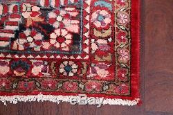 Breathtaking Vintage Floral Red 10x13 Lilian Sarouk Persian Oriental Area Rug