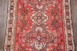 CLEARANCE Vintage Floral Runner Lilian Hamadan Persian Oriental Rug 10' 5 x 3' 7