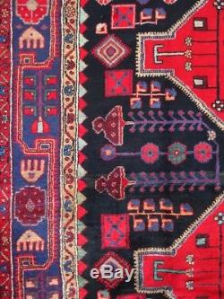 C 1930 Antique Vintage Persian Nahavand Exquisite Hand Made Rug 5x8