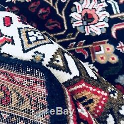 C 1930 Sheik Safi Antique Vintage Exquisite Hand Made Rug 6 7 X 9 10